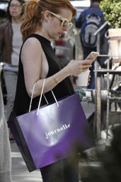 Emma Roberts - Shopping in New York City 5/1/2016
