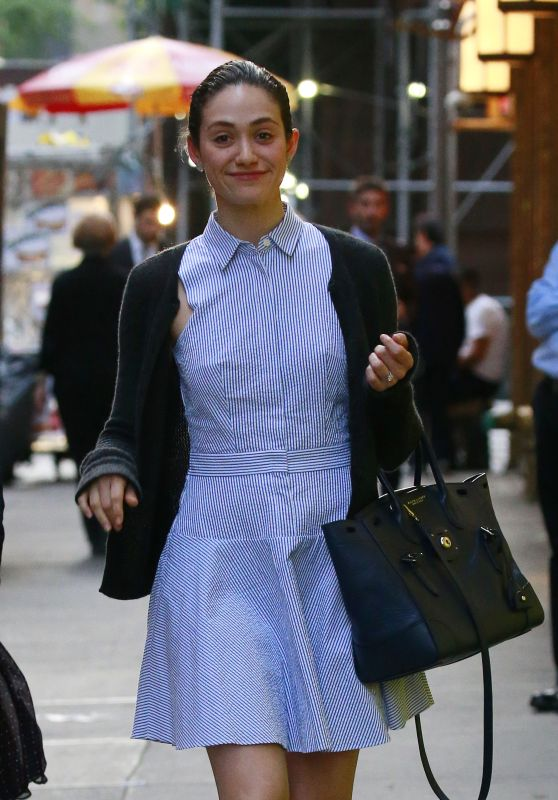 Emmy Rossum - Out in New York City 5/20/2016