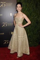 Emmy Rossum - Peabody Awards in New York 5/21/2016