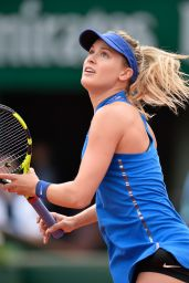 Eugenie Bouchard - French Open in Paris - Second Round 5/26/2016