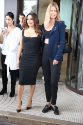Eva Longoria and Doutzen Kroes at Hotel Martinez in Cannes, France 5/11/2016