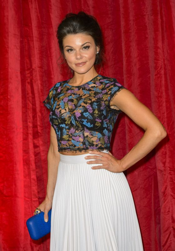 Faye Brookes – British Soap Awards 2016 in London, UK