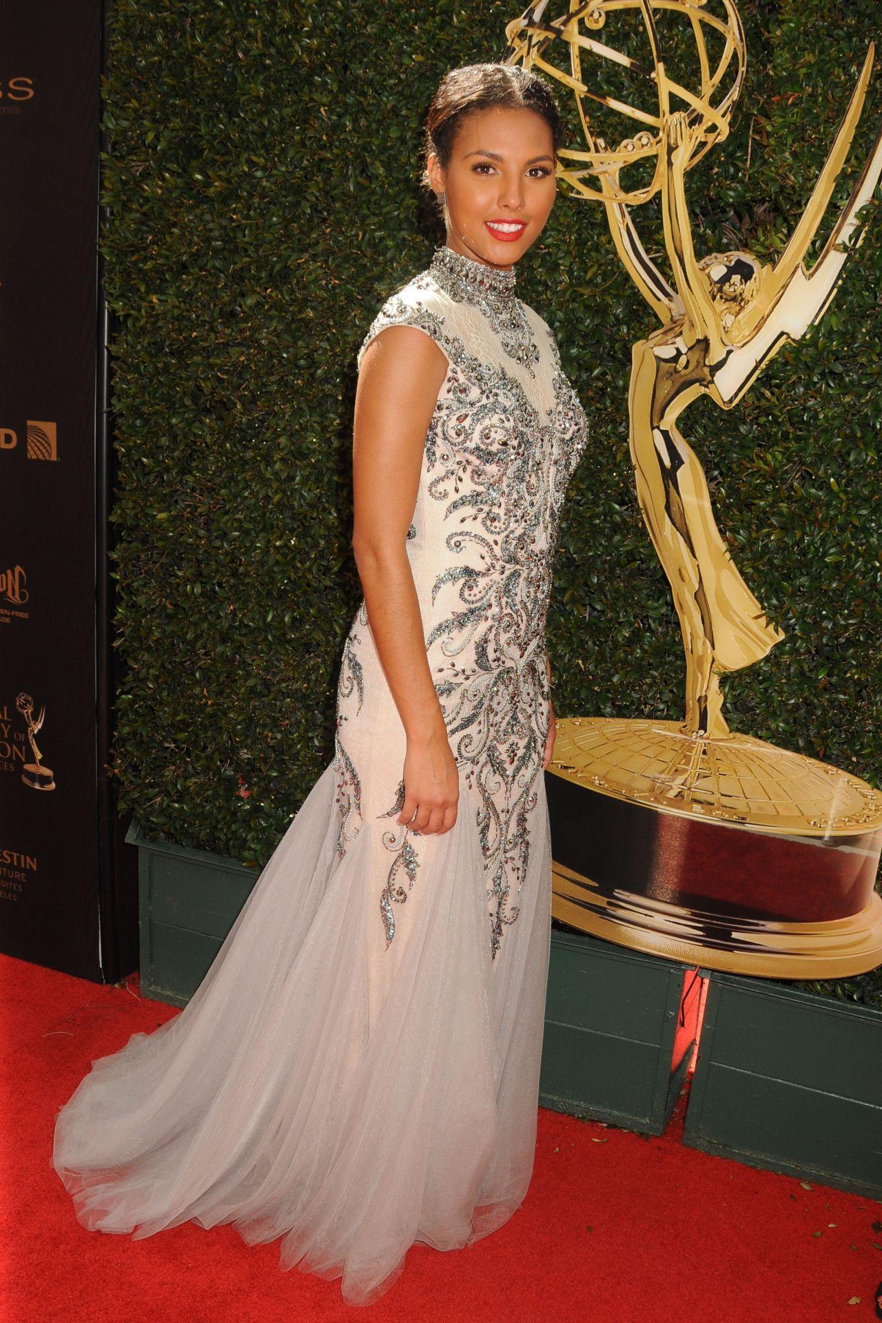 Felisha Cooper 2016 Daytime Emmy Awards In Los Angeles