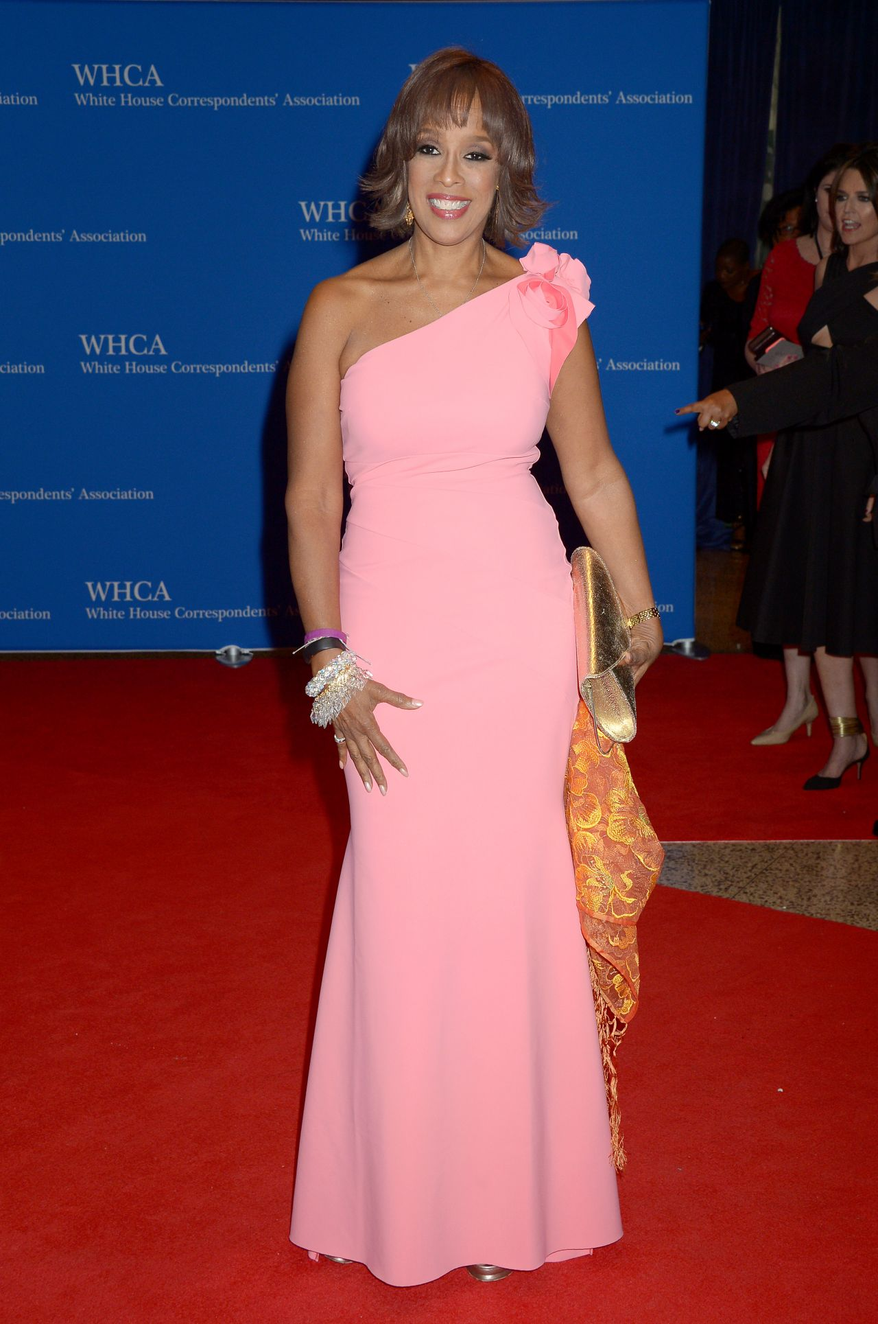 gayle king white house correspondents dinner in
