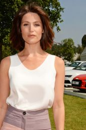 Gemma Arterton - Audi Polo Challenge in London - Day 2, 5/29/2016