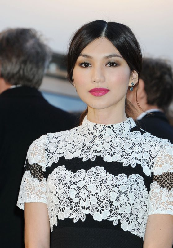 Gemma Chan – British Vogue 100th Anniversary Gala Dinner in London 5/23/2016