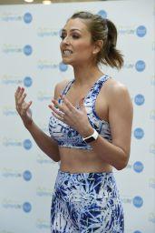 Gemma Merna - Hosting Fast Yoga Pop-Up Classes at Manchester Trafford Centre 5/14/2016