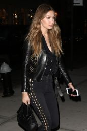 Gigi Hadid Night Out Style - New York City 5/5/2016