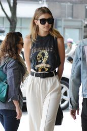 Gigi Hadid Street Style Inspiration - Out in New York City 5/9/2016