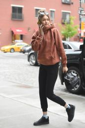 Gigi Hadid Street Style - Out in New York City, 5/6/2016