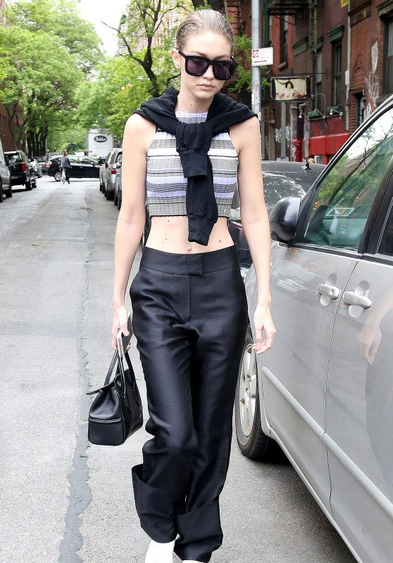 Gigi Hadid Style Inspiration - Out in NYC 5/17/2016