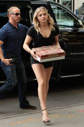 Grace Moretz Shows Off Her Legs in Very Short Shorts - Bowery Hotel in New York City 5/23/2016