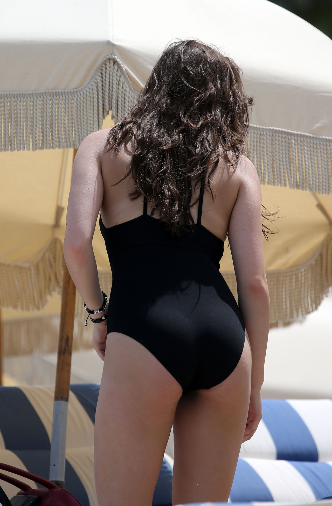 Hailee Steinfeld Hot In Swimsuit Beach In Miami 5 22 2016