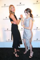 Hailee Steinfeld & Karlie Kloss - Swarovski #bebrilliant in New York City 5/24/2016