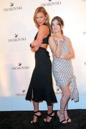 Hailee Steinfeld & Karlie Kloss - Swarovski #bebrilliant in New York City 5/24/2016