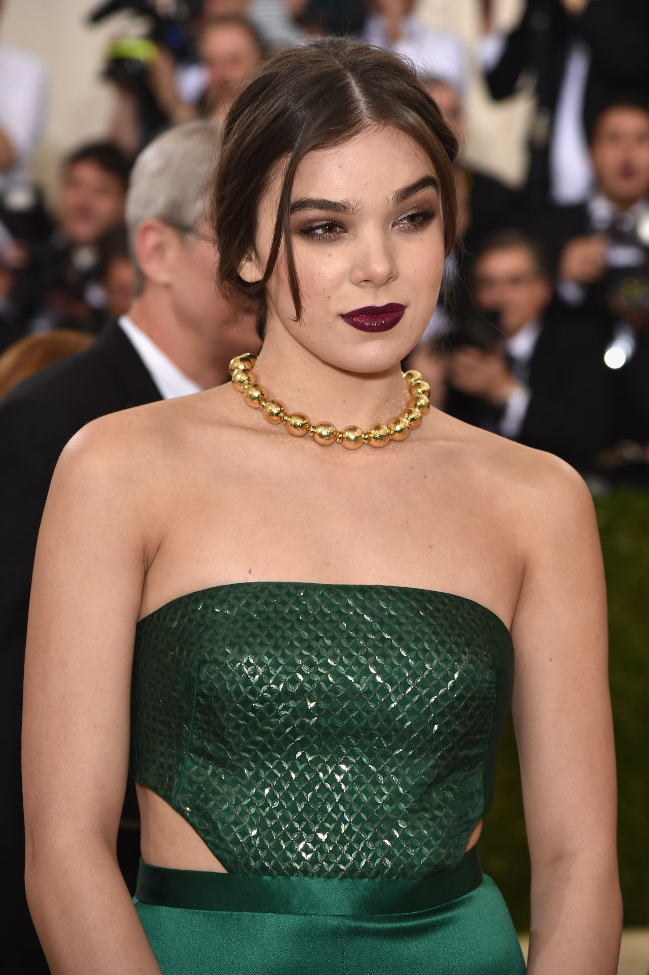 Hailee Steinfeld On The Cover Of Fashion Magazine March: Met Costume Institute Gala 2016 In New York