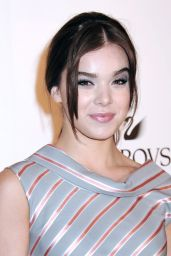 Hailee Steinfeld - Swarovski Announces Karlie Kloss as New Ambassador 5/24/2016