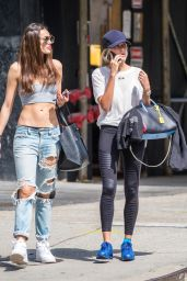 Hailey Baldwin - Out in NYC 5/23/2016