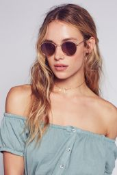 Hannah Ferguson - Free People 2016 Collection