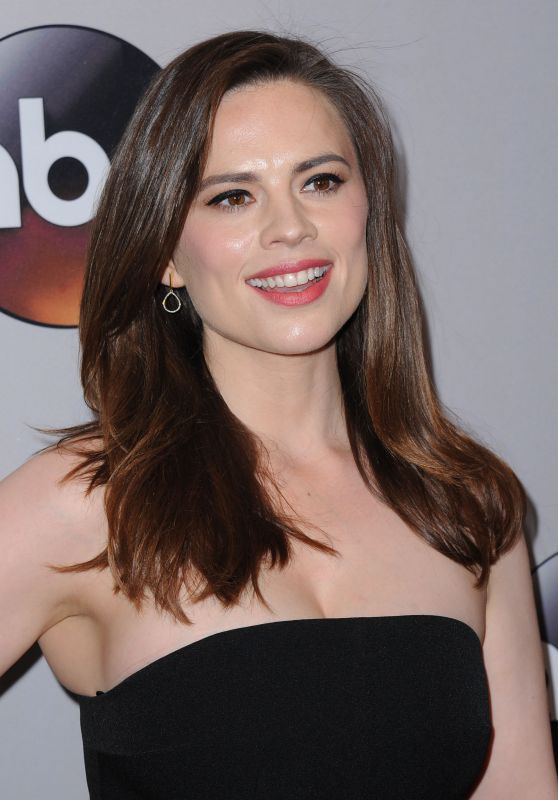 Hayley Atwell - ABC Upfronts, David Geffen Hall, New York City, 5/17/2016