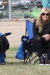 Heidi Klum at Her Kids Soccer Game in Los Angeles 5/7/2016