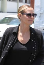 Heidi Klum - Going to a Beverly Hills Area Salon 5/27/2016