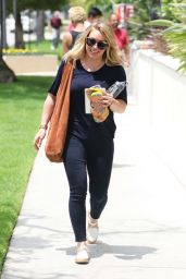 Hilary Duff Casual Style - Out in Beverly Hills 5/30/2016