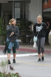 Hilary Duff in Leggings - Out in Beverly Hills 5/25/2016