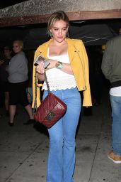 Hilary Duff Night Out Style - at The Nice Guy in West Hollywood 5/5/2016