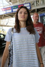Isabeli Fontana at Nice Airport, France 5/20/2016