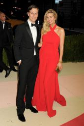 Ivanka Trump – 2016 Met Gala Held at the Metropolitan Museum of Art New York