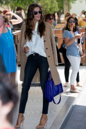 Izabel Goulart - Arriving at Hotel Martinez - Cannes Film Festival 5/16/2016