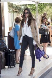 Izabel Goulart - Arriving at Hotel Martinez - Cannes Film Festival 5/16/2016