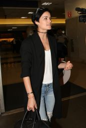Jaimie Alexander Arrives at Los Angeles International Airport 5/24/2016