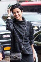 Jaimie Alexander - Grabs Lunch the Morning After Met Gala in New York 5/3/2016
