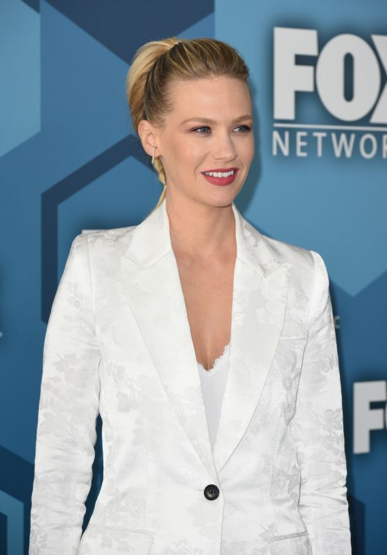 January Jones – Fox Network 2016 Upfront Presentation in New York City