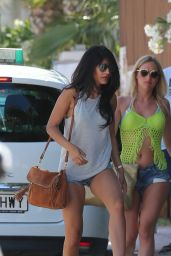 Jasmin Walia and Boyfriend Ross Worswick  - Ibiza 5/29/2016