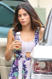 Jenna Dewan in Long Summer Dress - Visit Epione in Beverly Hills 5/19/2016