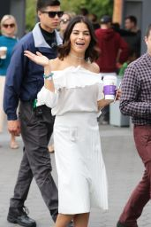 Jenna Dewan - On the Set of