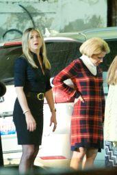 Jennifer Aniston on the Set of