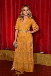 Jennifer Brooke – British Soap Awards 2016 in London, UK