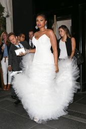 Jennifer Hudson - Leave the The Carlyle Hotel en Route to The Met Gala in NYC 5/2/2016