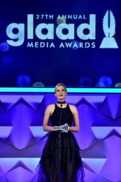 Jennifer Lawrence - 2016 GLAAD Media Awards in NEw York City