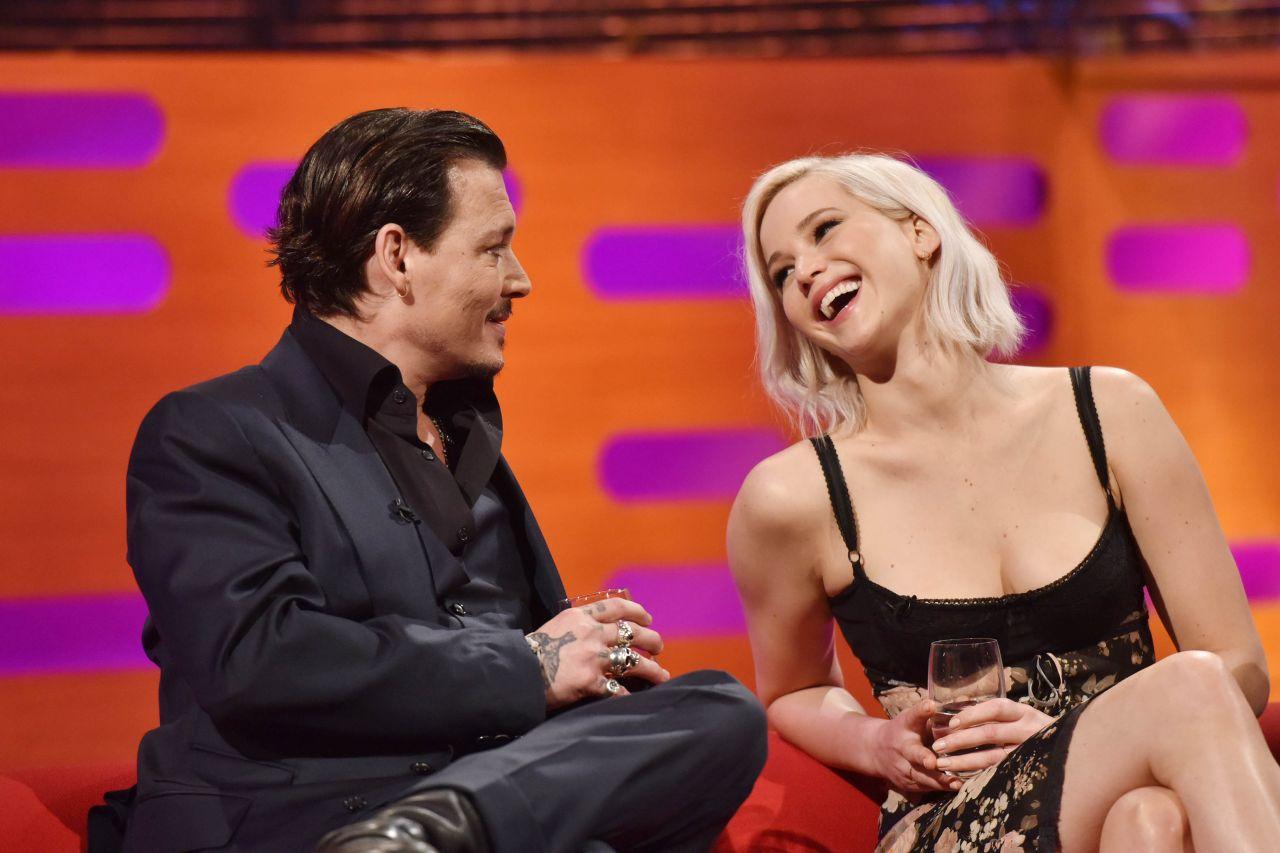 Jennifer Lawrence Appeared On Graham Norton Showin In