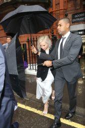 Jennifer Lawrence - Heads to London Premiere of  X-Men: Apocalypse