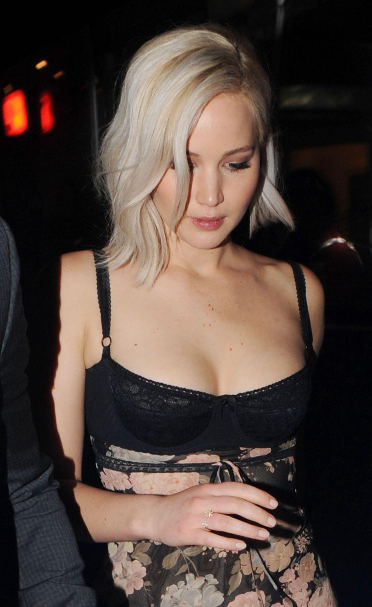 Jennifer Lawrence Night Out Style - London 592016-6692