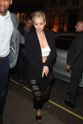 Jennifer Lawrence Night Out Style - Outside Sexy Fish in London 5/8/2016