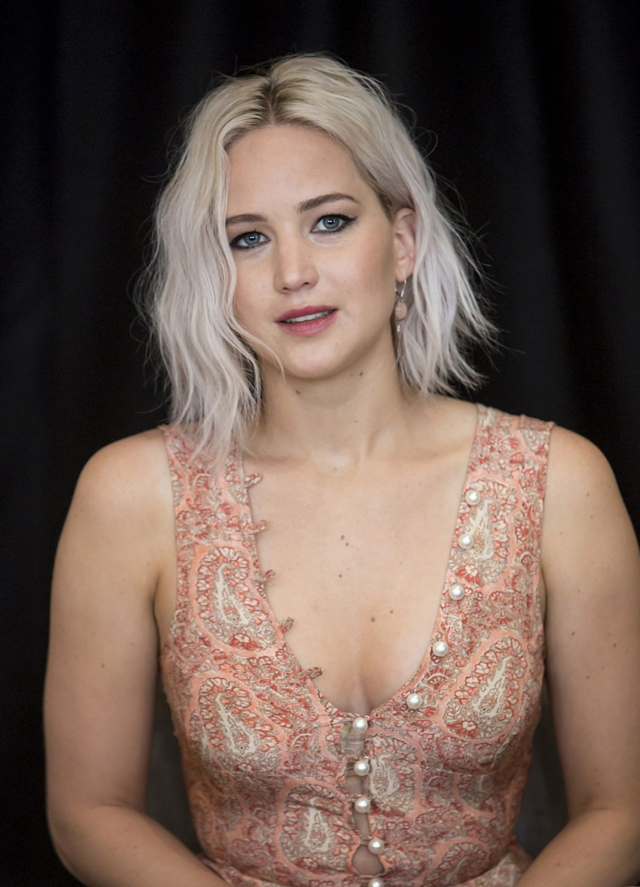 Jennifer Lawrence X Men Apocalypse Press Conference In