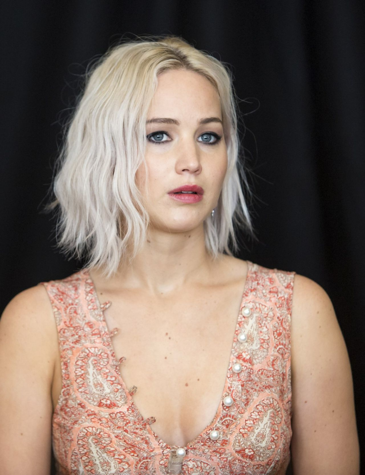 Jennifer Lawrence - X-Men: Apocalypse Press Conference in ...