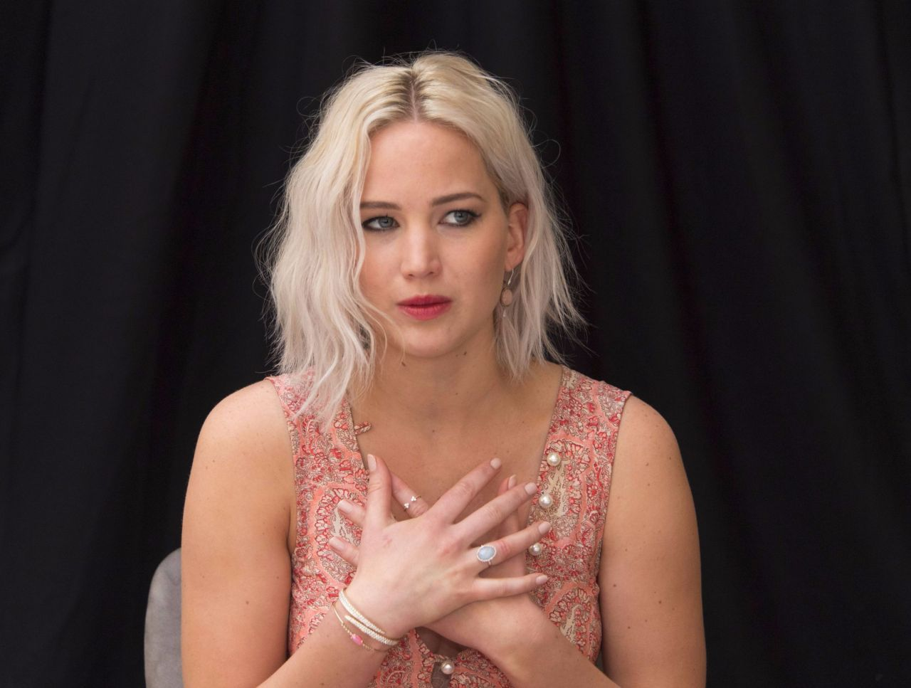 Jennifer Lawrence X Men Apocalypse Press Conference In